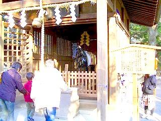 三島大社神馬舎