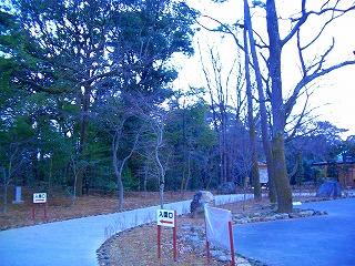 楽寿園入園口