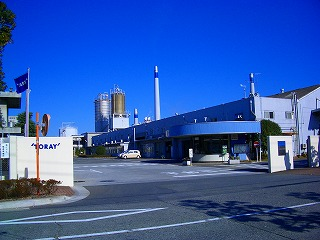 東レ 三島工場正門