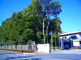 東レ 三島工場正門横