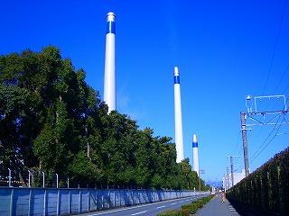 東レ 三島工場煙突
